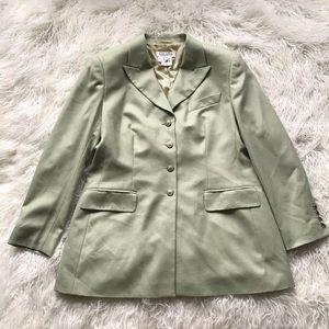 Escada Margaretha Ley Green Cashmere Blazer Jacket